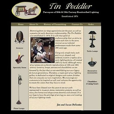 The Tin Peddler